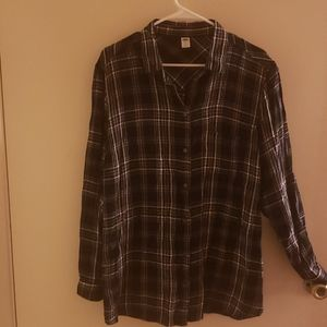 Black and white Flannel